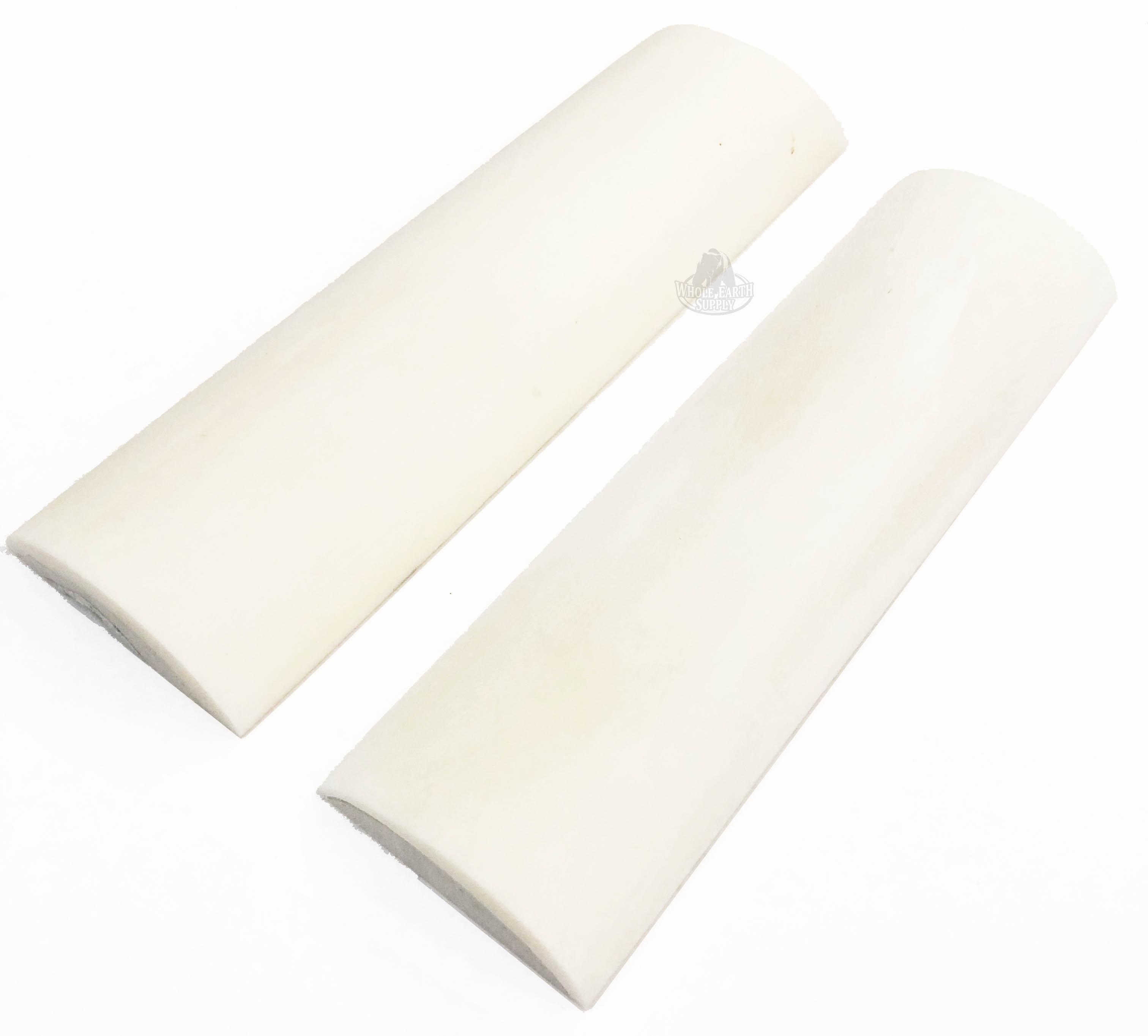 Blanksandblades Com 5 Inch Smooth White Camel Bone